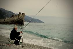 Friday fishing. April 2015. - Monterosso Al Mare, Italy