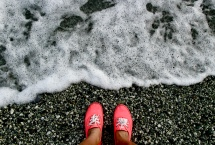 """""""...Walking another nation's soil until my shoes wear out."""" April 2015. - Monterosso Al Mare, Italy"""