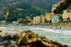 Beauty in the distance. April 2015. - Monterosso Al Mare, Italy