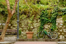 I came across this scene as if a stranger put these items in place so I could take this picture. April 2015. - Monterosso Al Mare, Italy