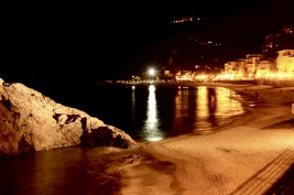 Follow the fake starry moon. April 2015. - Monterosso Al Mare, Italy